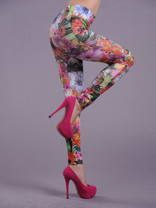 Wholesale Leggings calling Adorable Floral Legings are really attractive.