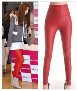Wholesale Leggings calling  Red Seductive Spandex Leggings is enchanting.They are all in Wonder Beauty.