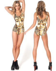 Pharaoh Golden Mask Romper Swimsuit sale at  US$ 8.50.