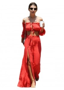 Red-Strapless-Fashion-Two-Pieces-Maxi-Dress-W880720-1