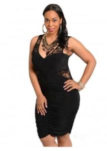 XXL-Sexy-Black-Dress-W846046-2