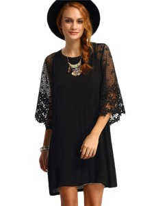Women-Lace-Half-Sleeve-Casual-Dress-W870435-1